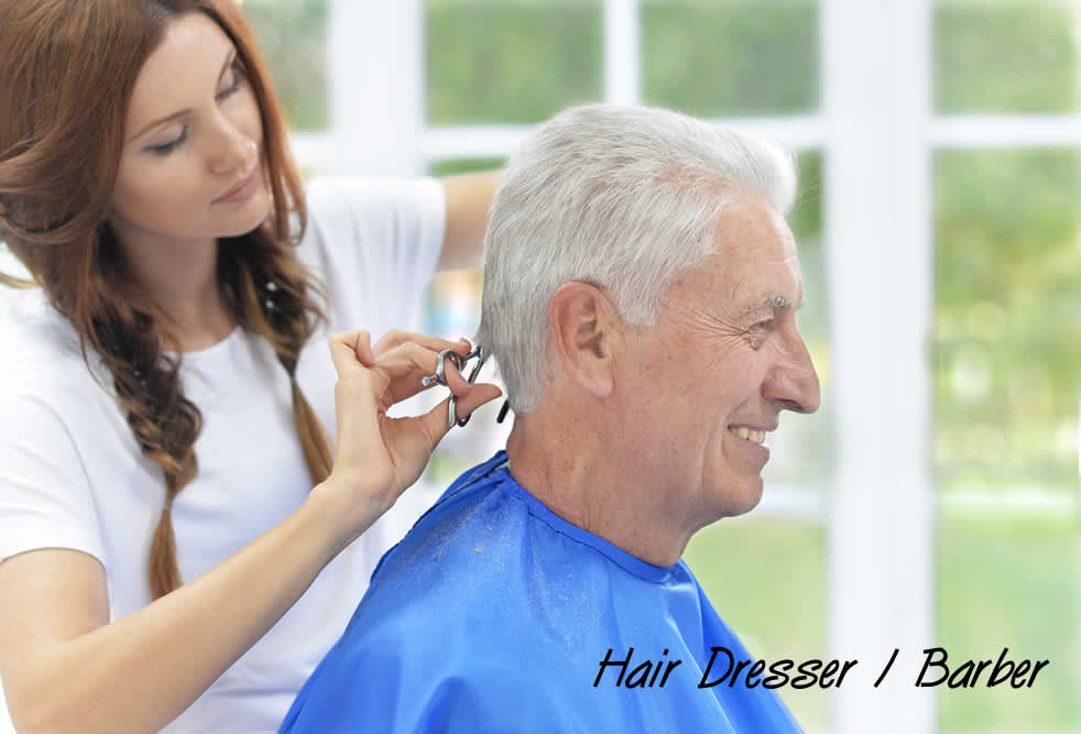 Hair Dresser and Barber services